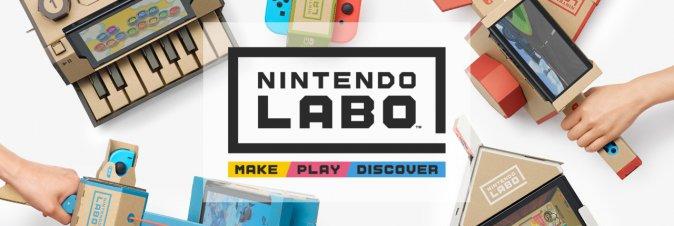 Nintendo Labo è già un successo