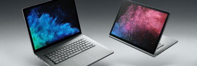 Surface Book 2 prenotabile da oggi sul mercato italiano