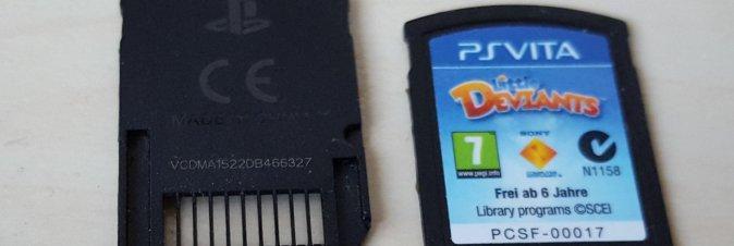 Sony cessa la produzione delle cartucce per PS Vita