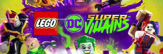LEGO e TT Games annunciano DC Super-Villains