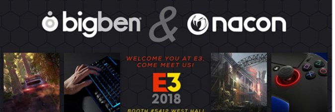 Bigben presenta la line up per l'E3 2018