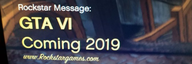 GTA VI in arrivo nel 2019?
