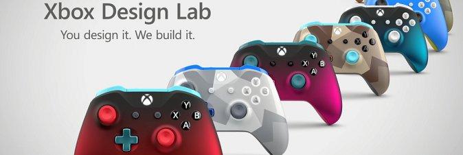 I pad Xbox Design Lab aggiungono nuove personalizzazioni