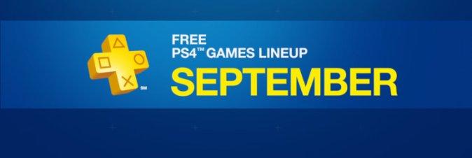 Ecco l'offerta Playstation Plus di Settembre