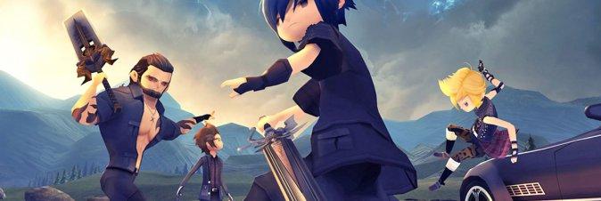 Final Fantasy XV Pocket Edition HD disponibile da oggi su PS4 e Xbox One