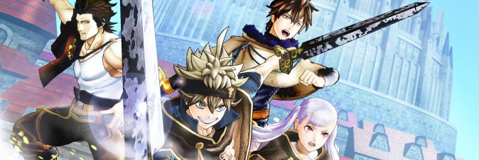 Black Clover Quartet Knights è disponibile
