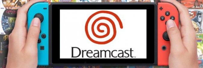I giochi Dreamcast arriveranno presto su Switch