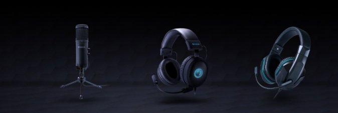 Nacon presenta la nuova serie di cuffie e microfono per il gaming