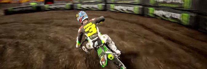 Monster Energy Supercross nel primo video di gameplay