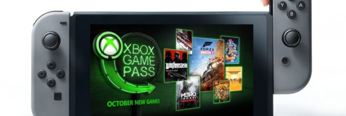 Microsoft porta Xbox Game Pass su Nintendo Switch?