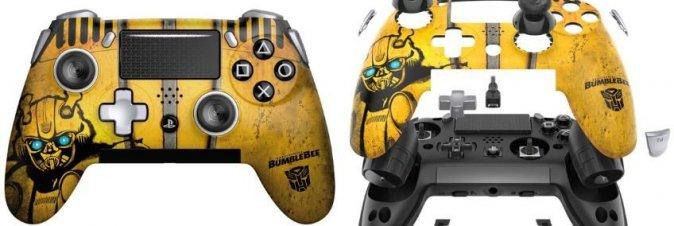 SCUF lancia il controller PS4 a tema Bumblebee