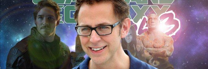 James Gunn ritorna al timone di Guardiani della Galassia 3
