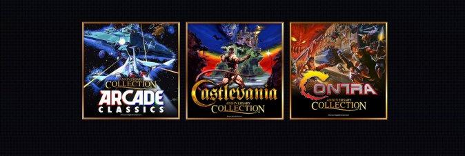 Konami festeggerà i 50 anni con tre collection