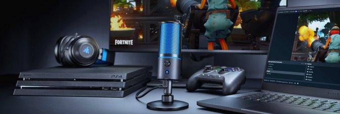 Razer annuncia il microfono PS4 ''Seirēn X''