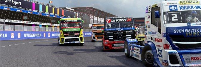 Il racing FIA European Truck Racing Championship disponibile da luglio
