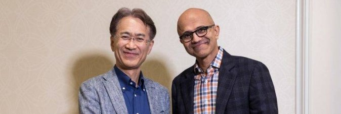 Microsoft e Sony insieme sul cloud gaming