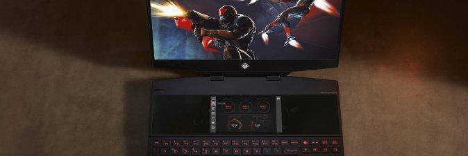 Arriva da HP il primo portatile dual screen per il gaming