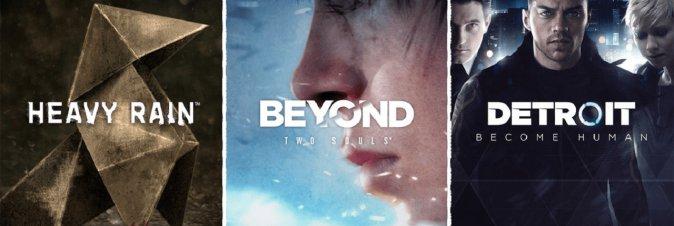Heavy Rain, Beyond e Detroit Become Human in esclusiva sull'Epic Games Store