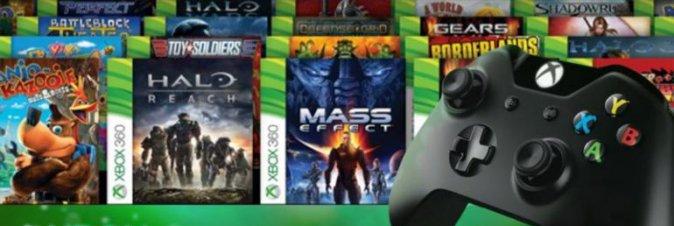 La compatibilità Xbox One con la 360 si ferma qui