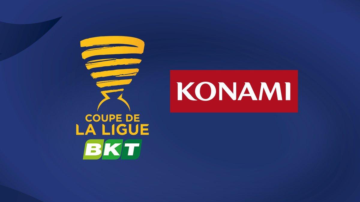 Konami è il nuovo major partner della Coppa di Lega Francese BKT