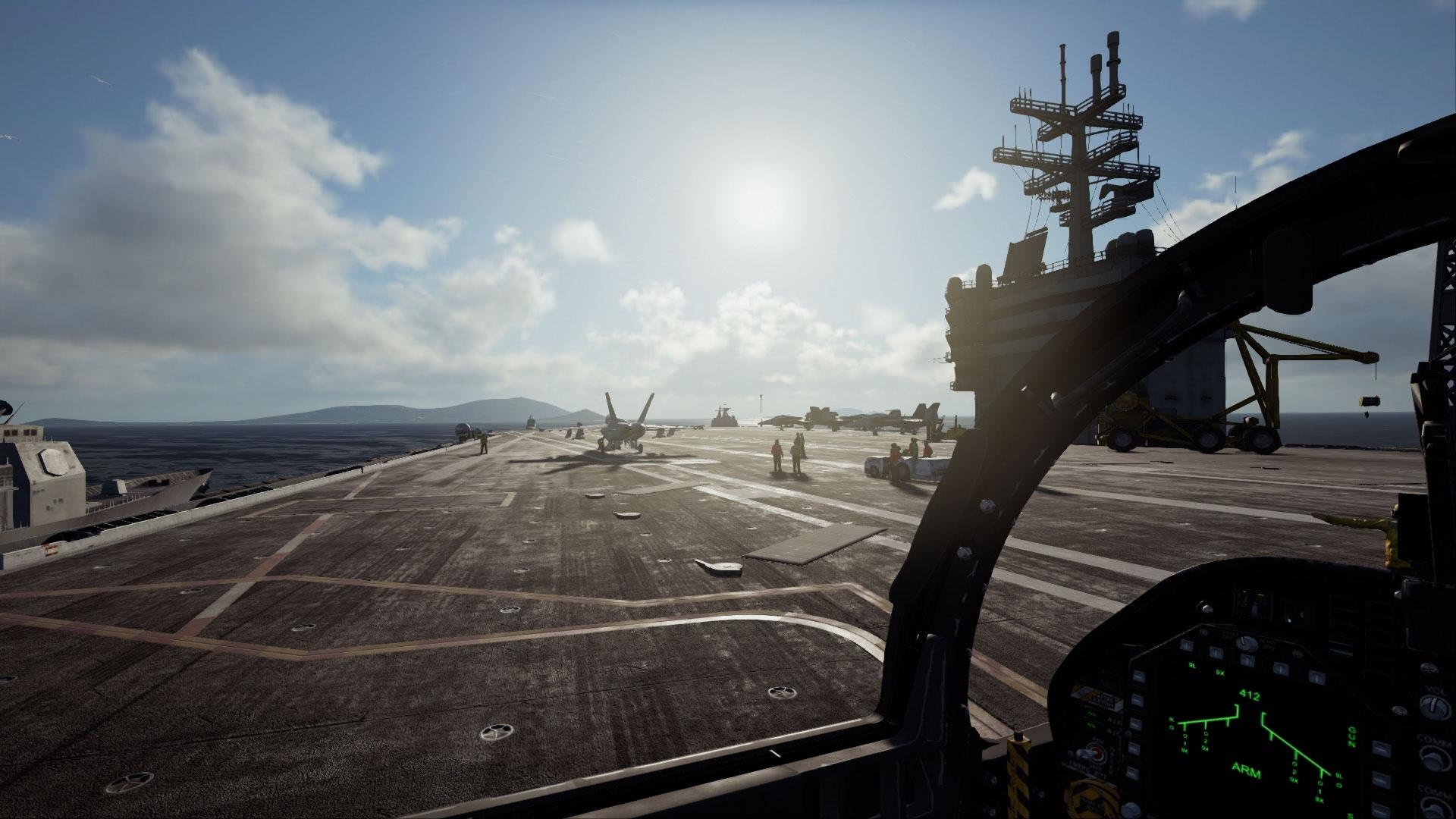 Una demo VR per Ace Combat 7