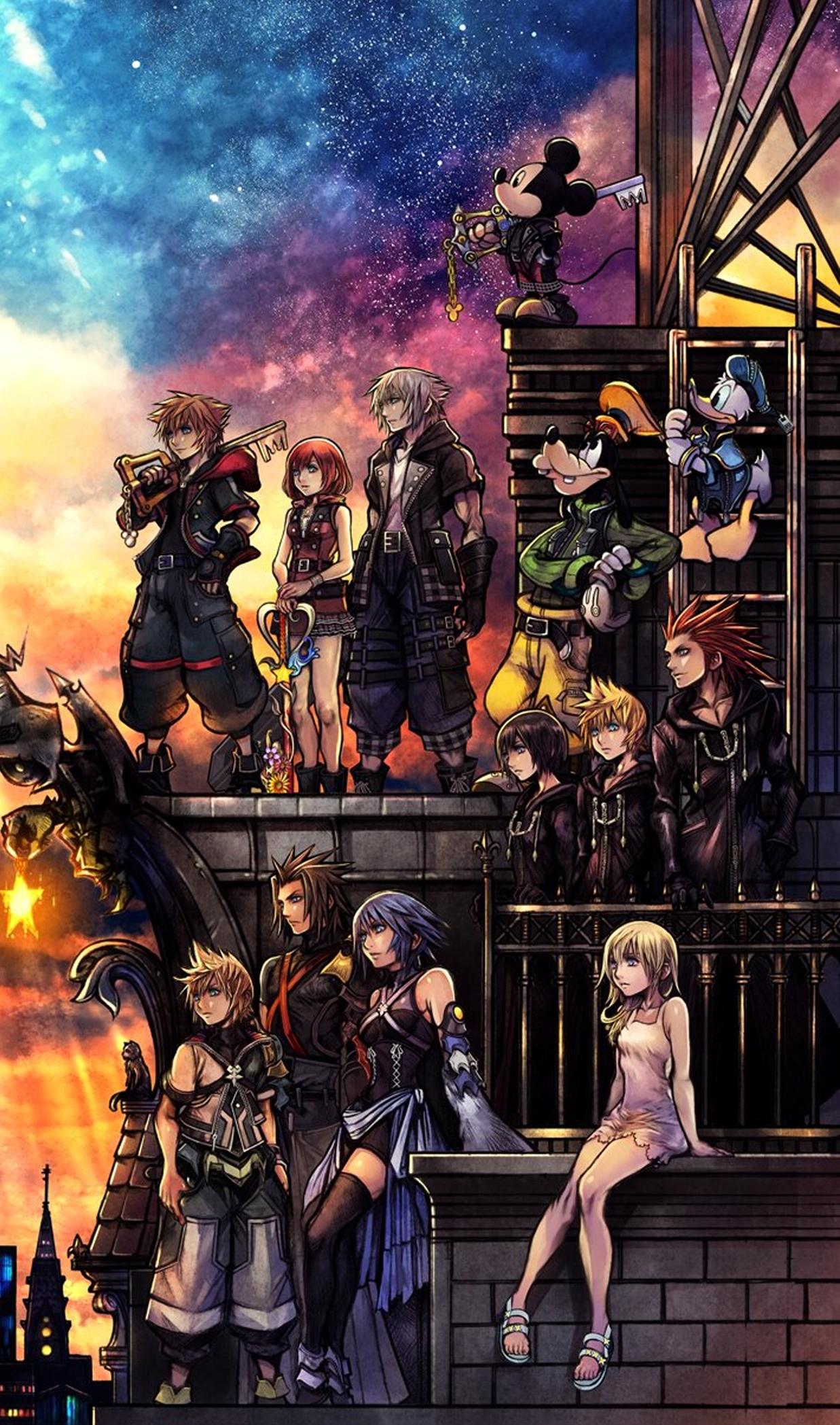 E' il gran giorno di Kingdom Hearts 3