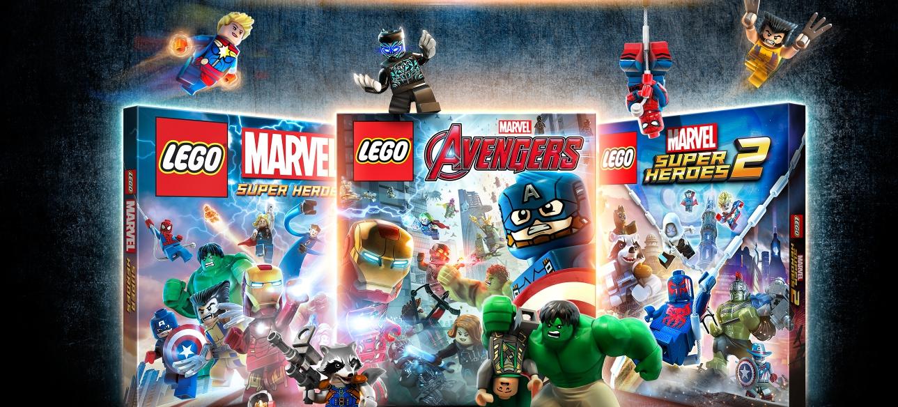 Arriva la collezione Marvel firmata LEGO