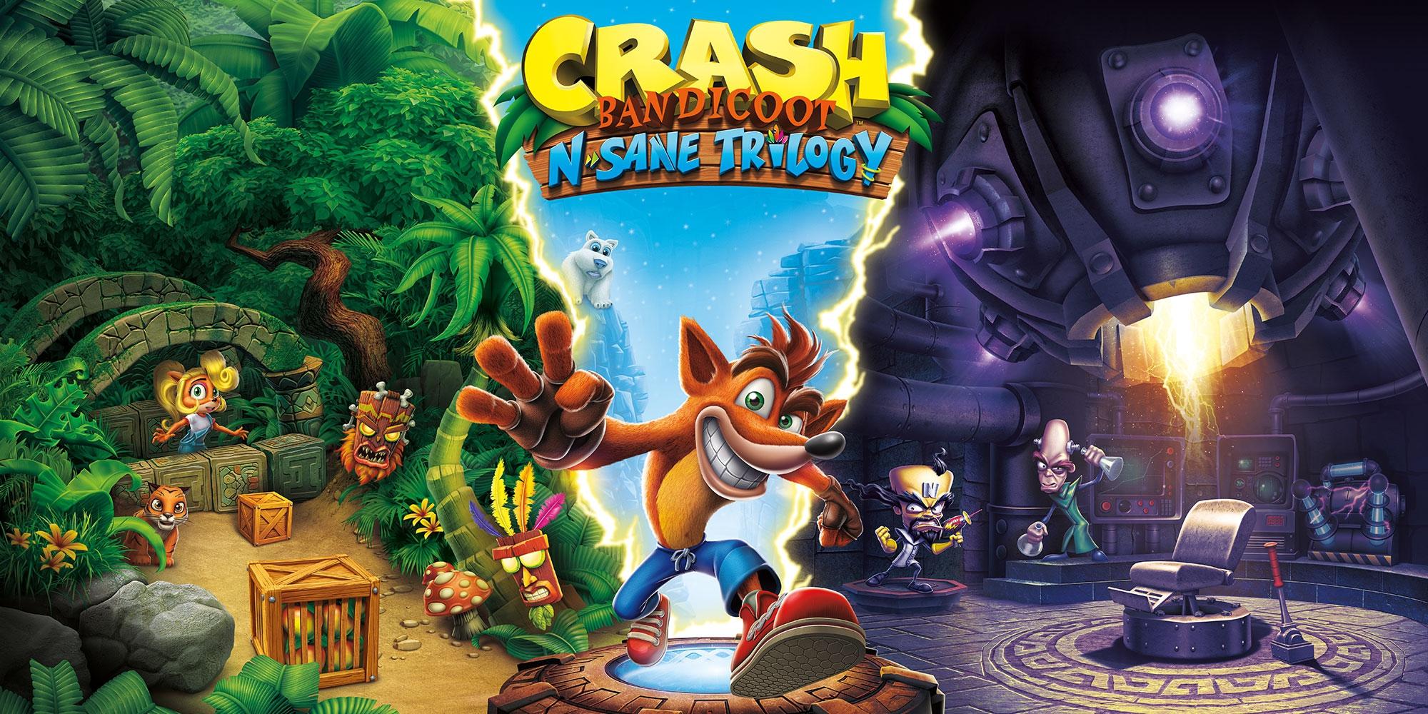 Crash Bandicoot N.Sane Trilogy a quota 10 milioni