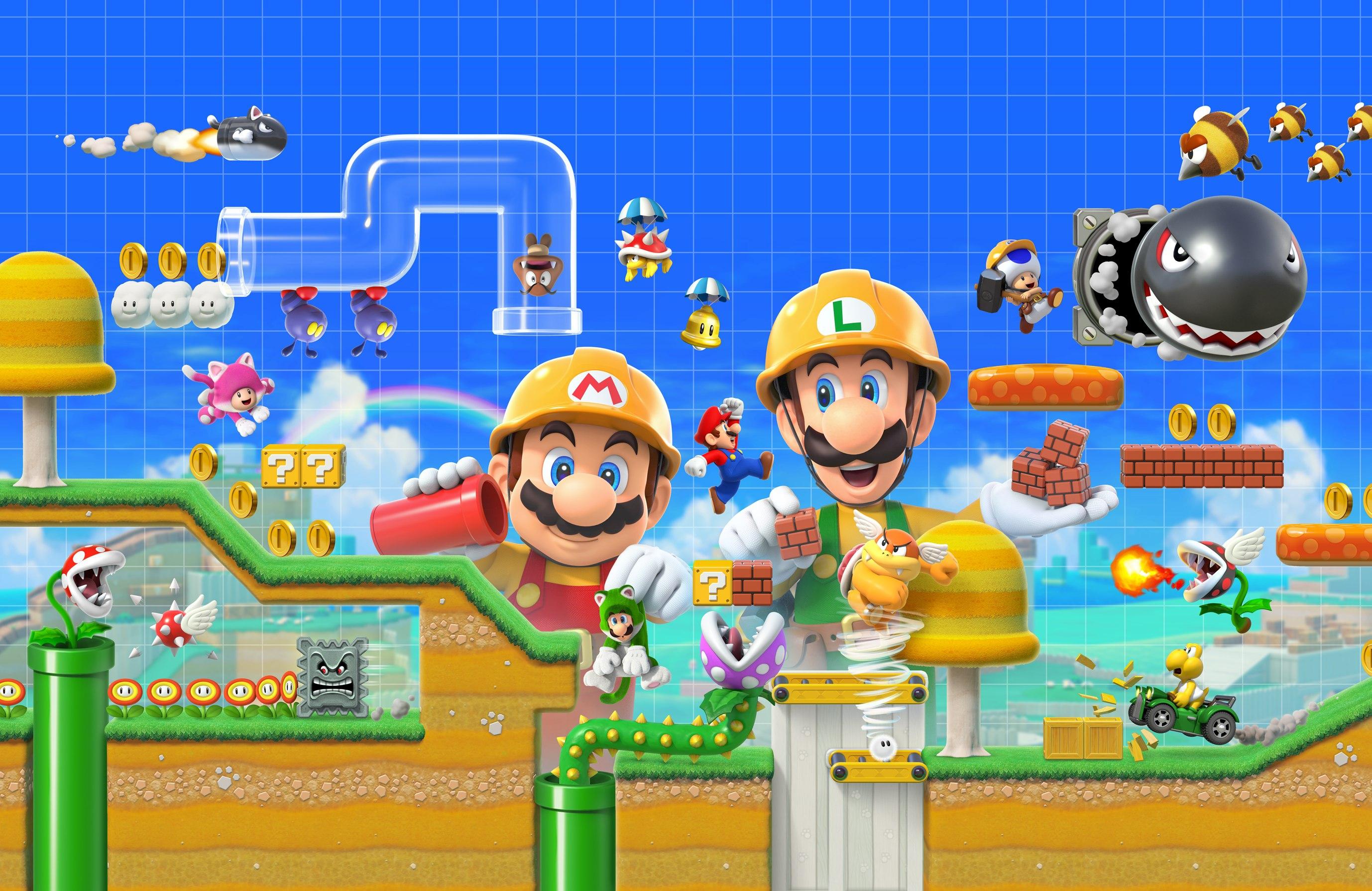 Nintendo annuncia Super Mario Maker 2