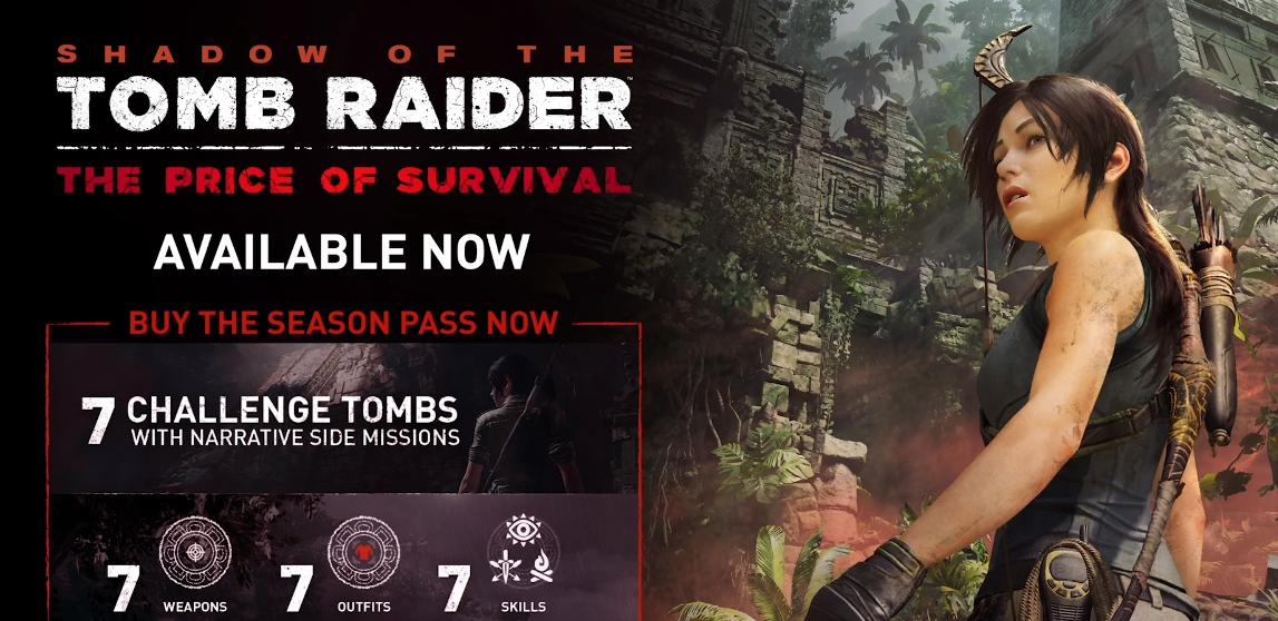 Il nuovo DLC di Shadow of the Tomb Raider è finalmente disponibile