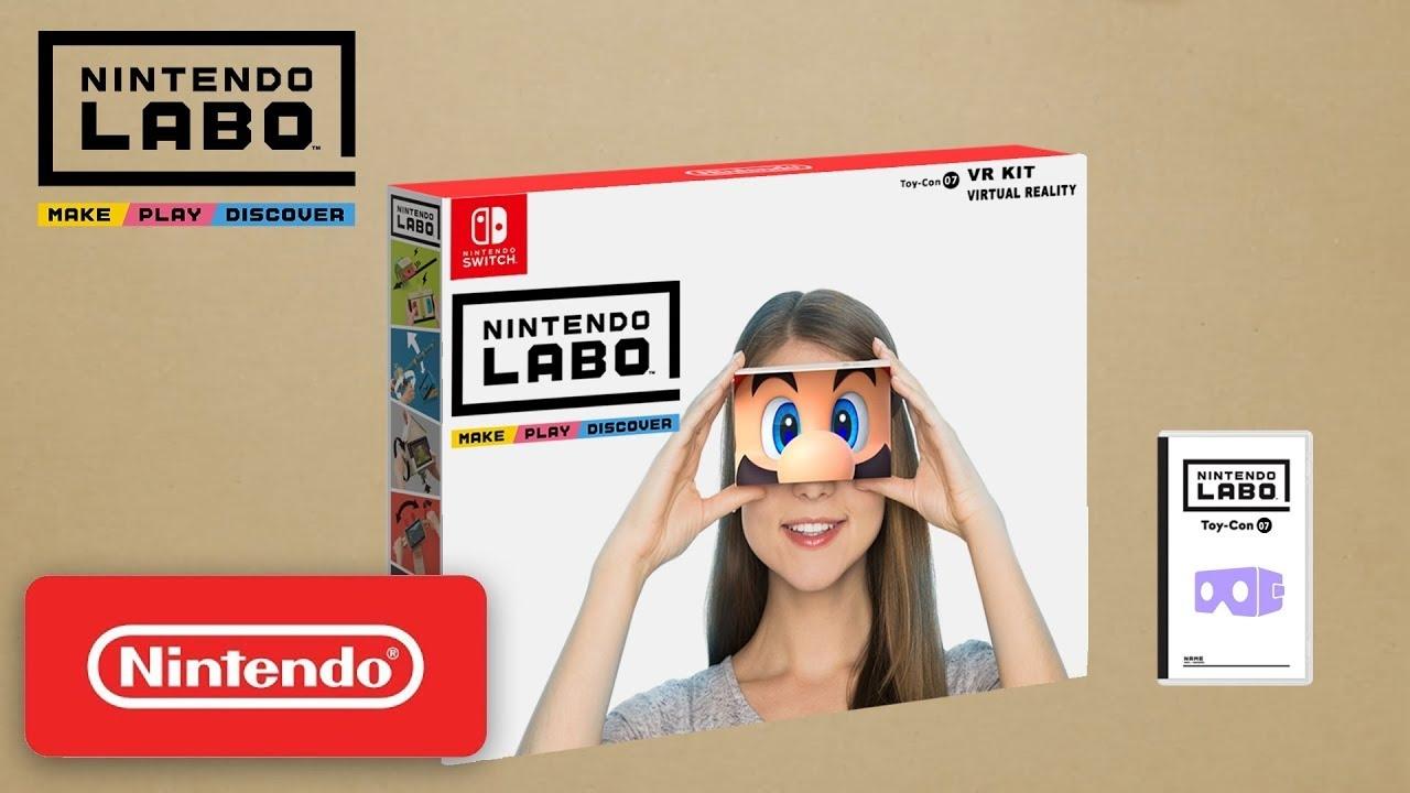 Nintendo si apre al VR?