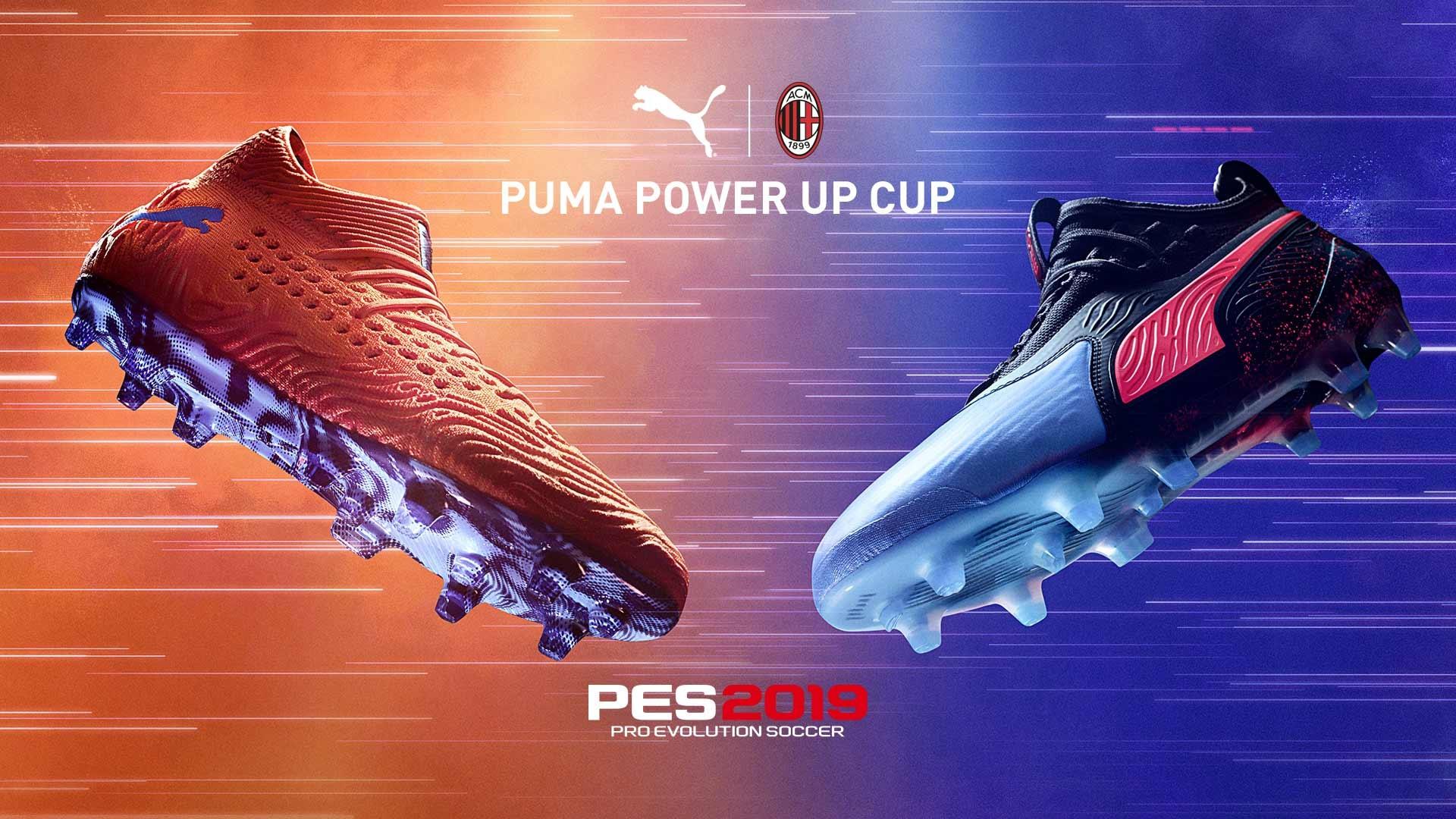 Puma e Milan si incontrano su PES 2019