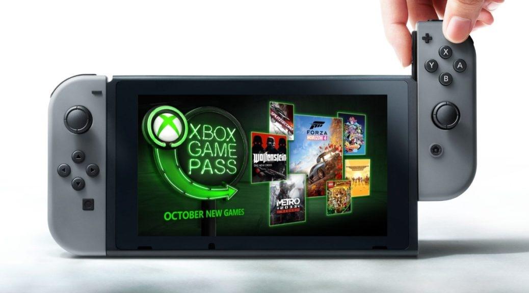 Microsoft porta Xbox Game Pass su Nintendo Switch?