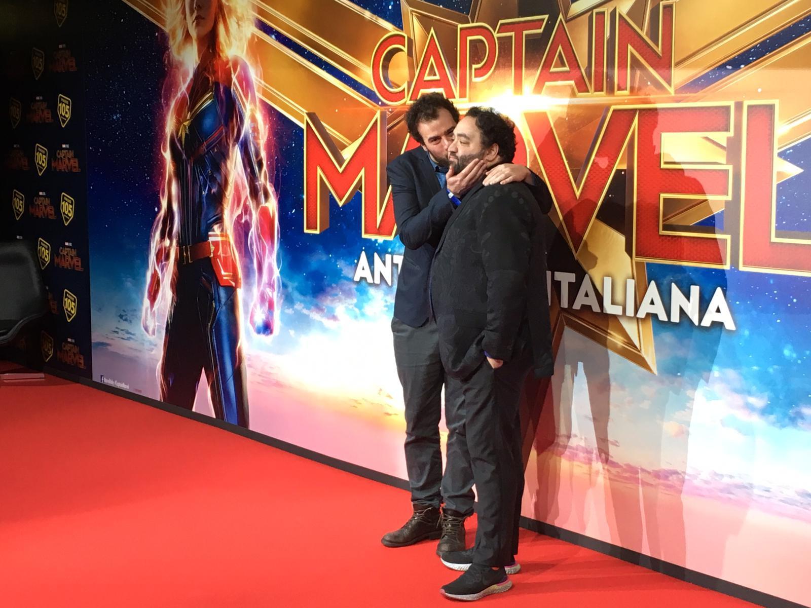 Tutti i Vip del Red Carpet milanese di Captain Marvel