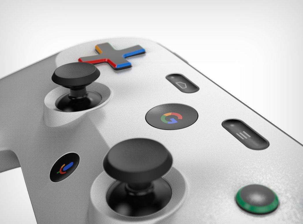 Sarà questa la forma del PAD della console di Google?
