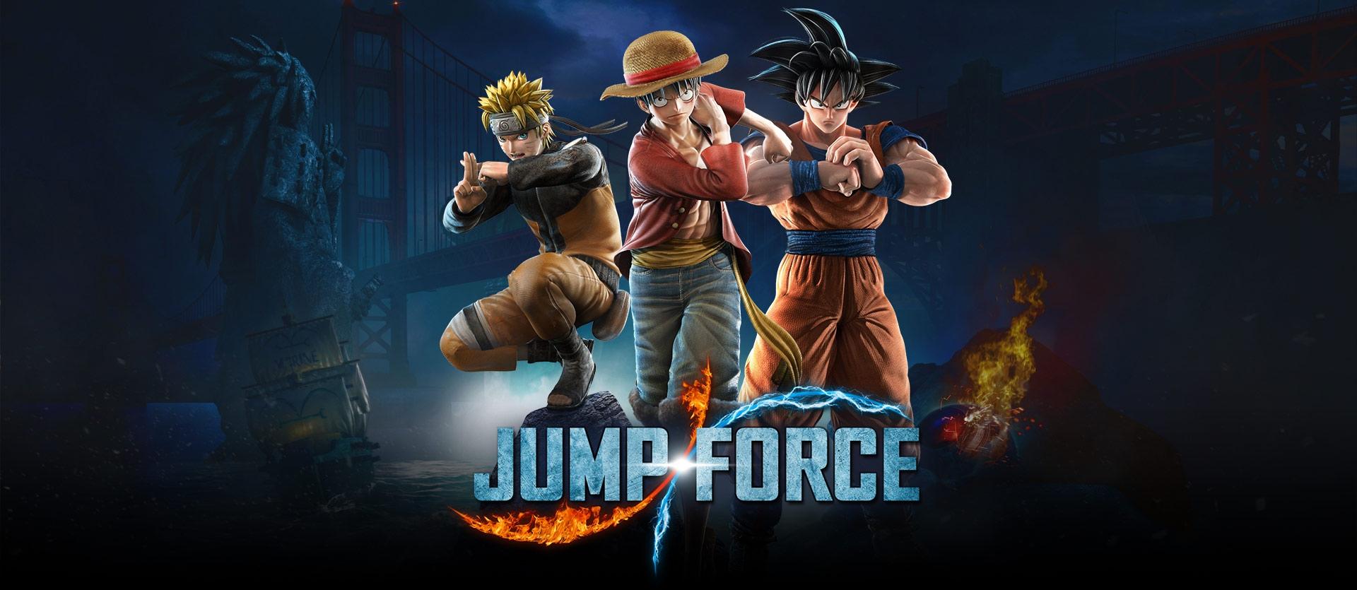 Bandai Namco svela la road-map per i DLC di Jump Force