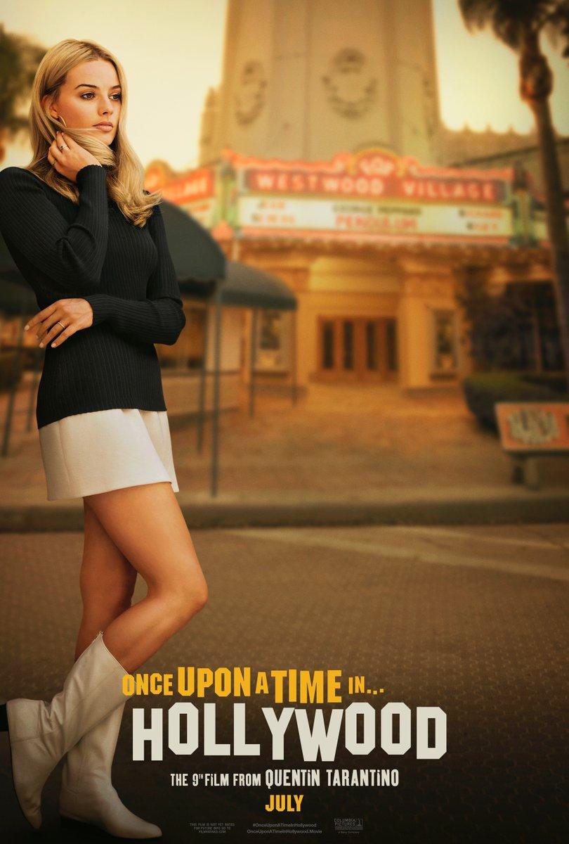 Due poster per C'era una volta a Hollywood