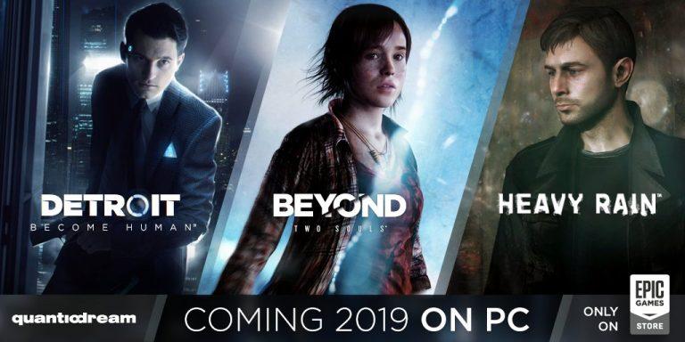 Le ex-esclusive PlayStation di Quantic Dream arriveranno anche su PC