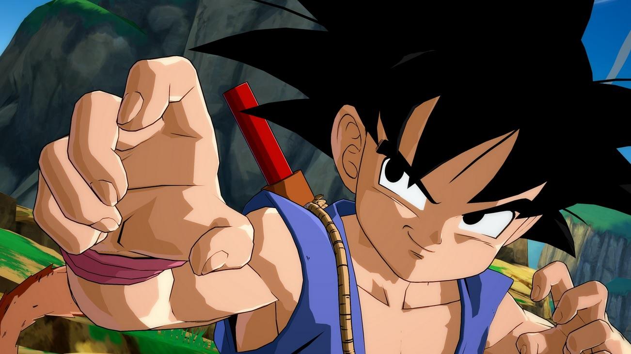 Prime immagini di Goku in versione GT