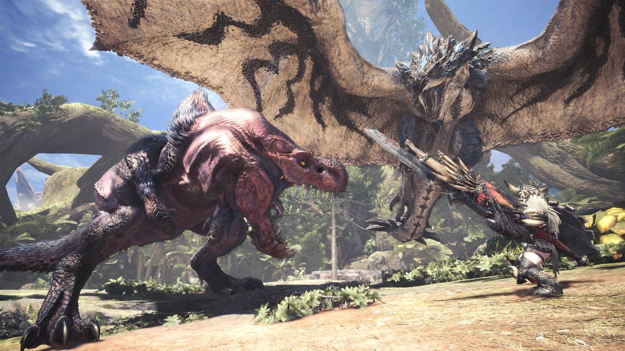 Monster Hunter World si fa bello su PC con il prossimo update