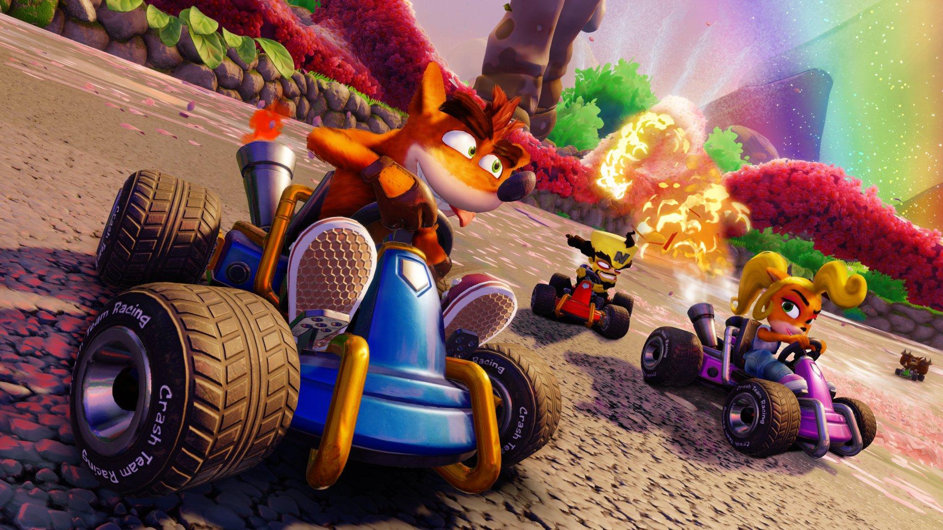 Contenuti rétro per la versione PS4 di Crash Team Racing Nitro-Fueled