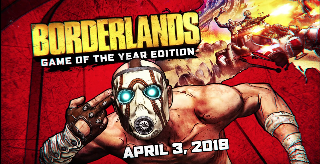 Gearbox annuncia la Borderlands: Game of the Year Edition