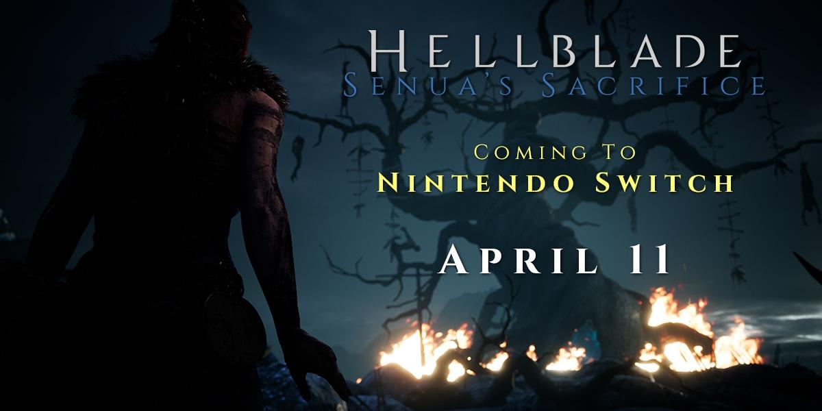 Hellblade: Senua's Sacrifice è in arrivo su Nintendo Switch