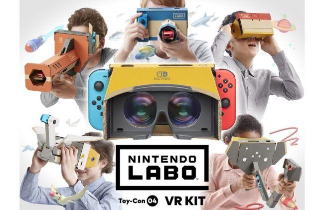 Nintendo annuncia la compatibilità VR per Mario Odyssey e Zelda: Breath of The Wild