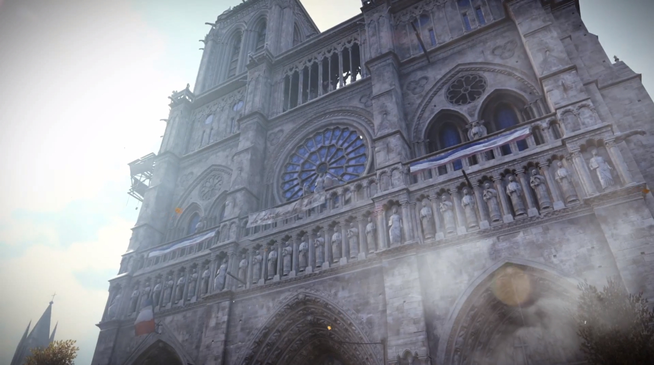 I giocatori di Assassin's Creed Unity ''ricordano'' Notre Dame