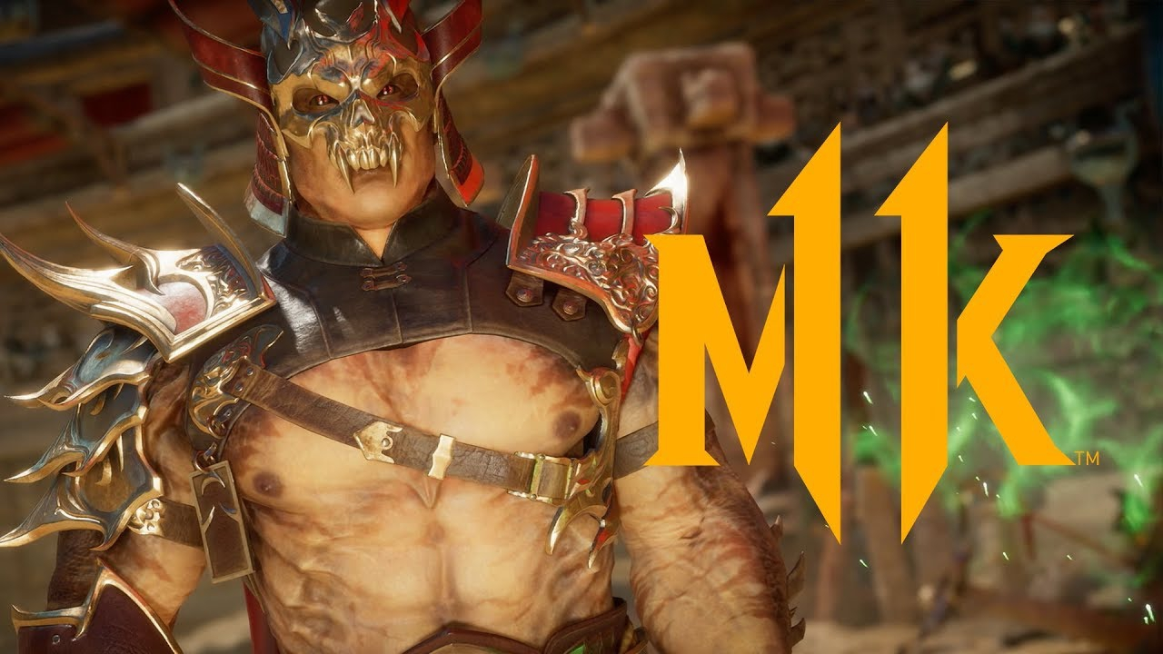 Mortal Kombat 11 - Ecco Shao Kahn in azione
