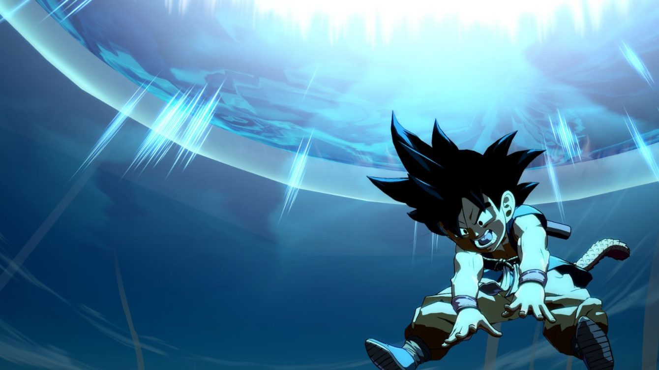 Kid Goku arriva su Dragon Ball FighterZ
