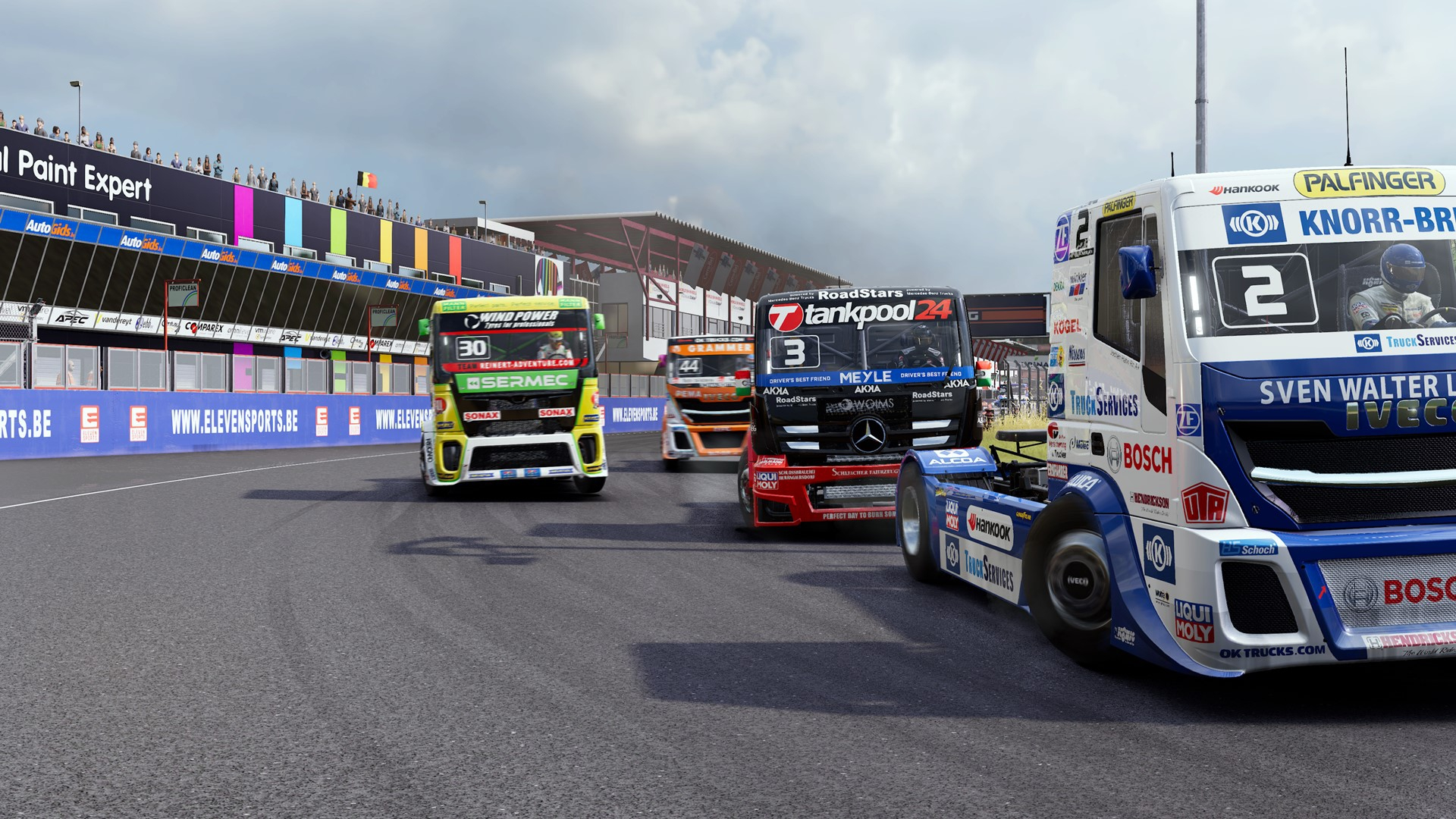 Il racing FIA European Truck Racing Championship disponibile da luglio