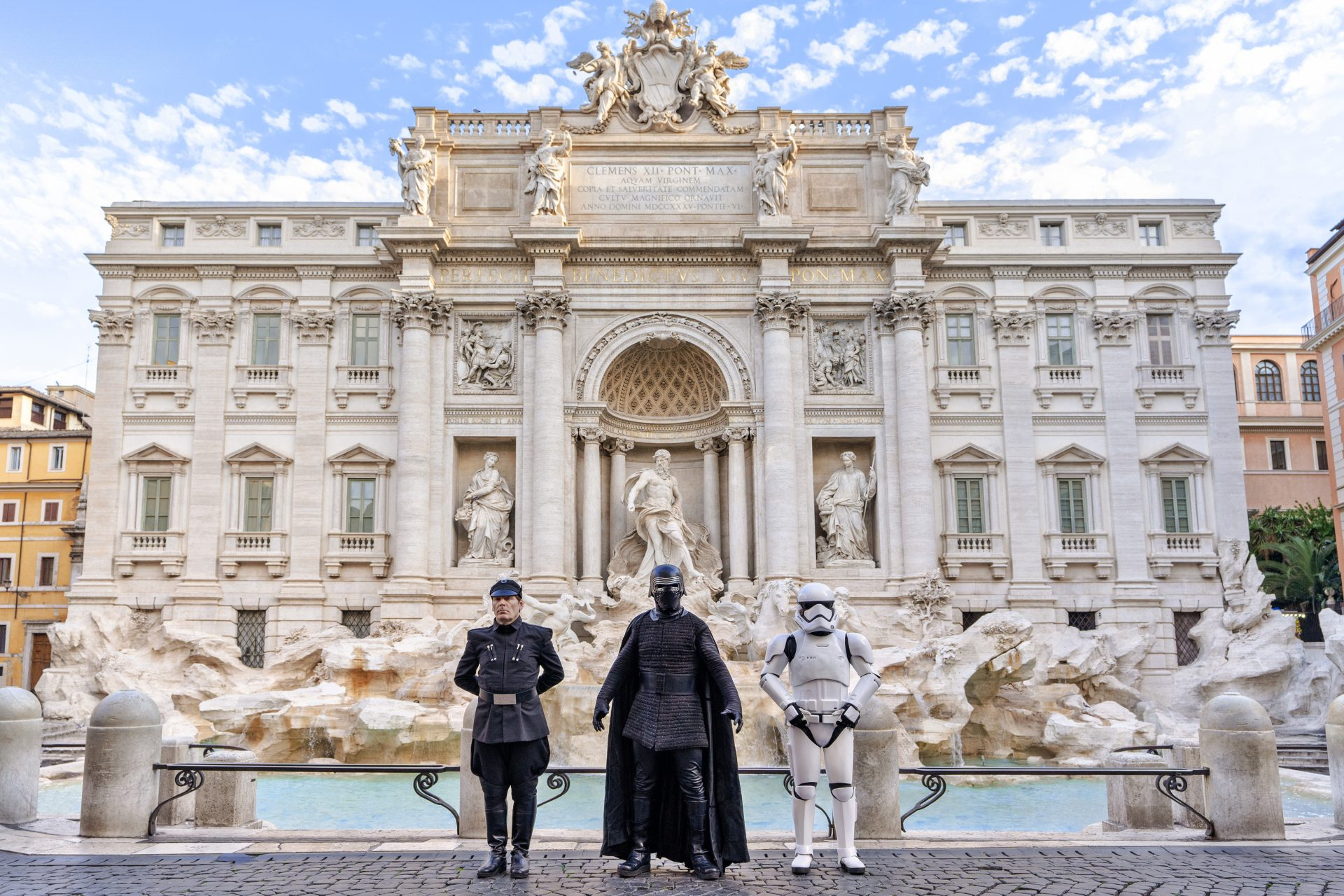 May The Rome Be With You