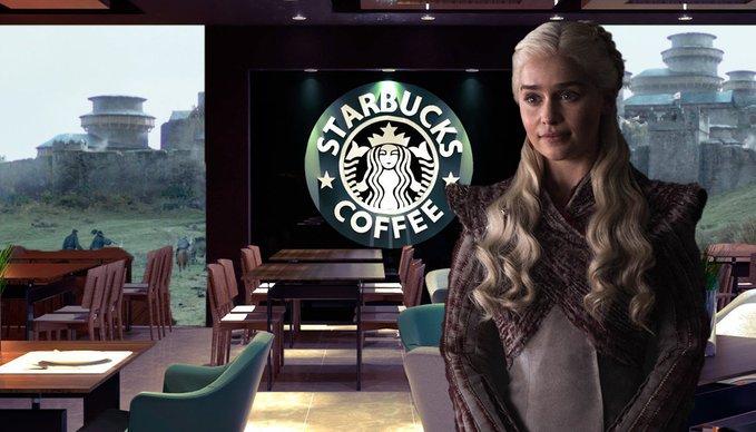 Game of Thrones: dimenticato un bicchiere Starbucks in una scena della 8x04!